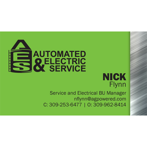 Nick Flynn, AES Service Manager